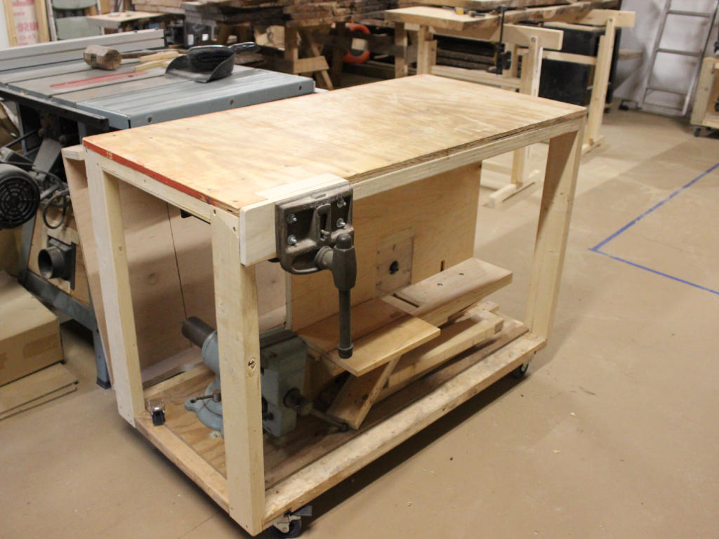 Building My Woodworking Work Tables